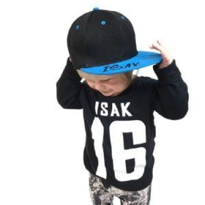 Keps för barn Snapback Name