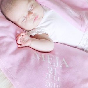 Babyfilt Födelse
